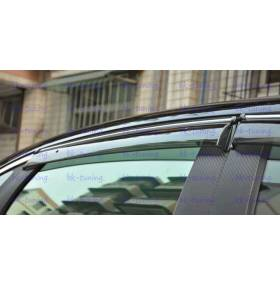 Дефлекторы окон Toyota Camry V50 (TC-V21)