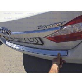 Накладка на бампер Toyota Camry V50 (TC-P21)