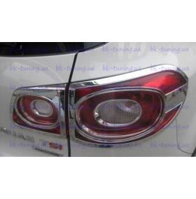 Хром на задние фонари VW Tiguan (TG-L22)