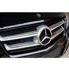 Хром решетки радиатора Mercedes GLK (GLK-C22)