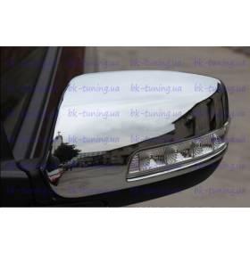 Накладки на зеркала Kia Sorento 2013 (KSO-С31)