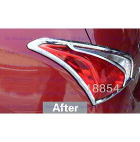 Накладки на задние фонари Nissan Tiida (NT-L12)