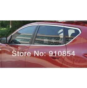 Хром на окна Nissan Tiida (NT-D13)