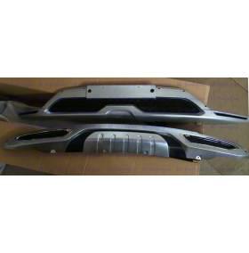 Накладки на бампера Hyundai IX35 (B913-914)
