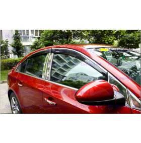 Дефлекторы окон Mazda CХ7 (CX7-V21)