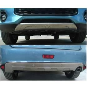 Накладки бамперов Mitsubishi ASX (MA-B36/37)