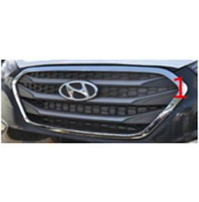 Хром на решетку радиатора Hyundai IX35 2014 (HT-C31)