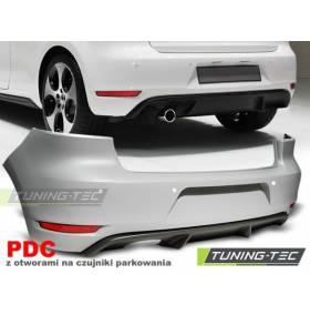 Задний бампер Golf 6 GTI под 1 выхлоп (ZTVW04)