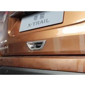 Хром на ручку багажника Nissan X-Trail 2014 (NX-D41)