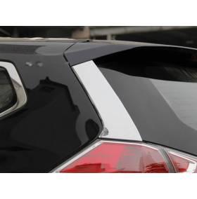 Хром на задние стойки Nissan X-Trail 2014 (NX-D45)