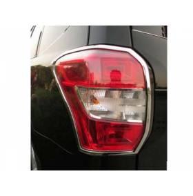 Хром на задние фонари Subaru Forester 2013 (SF-L32)