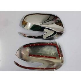 Хром накладки на зеркала под поворотник Subaru Forester 2013 (SF-C30)