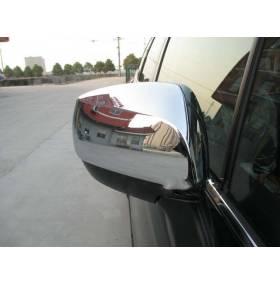 Хром накладки на зеркала Subaru Forester 2013 (SF-C31)