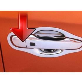 Хром на дверные ручки Hyundai IX25 (HX-D44)