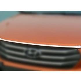 Хром молдинг на капот Hyundai IX25 (HX-C43)