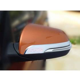 Хром накладки на зеркала Hyundai IX25 (HX-C41)