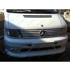 Накладка на бампер Mercedes Vito (под ПТФ)