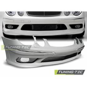 Передний бампер Mercedes W211 02-06 AMG (ZPME05)