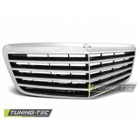 Решетка радиатора Mercedes W211 2006-2009 (GRME07)