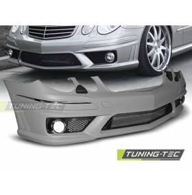 Передний бампер Mercedes W211 2006 - 2009 E63 (ZPME07)