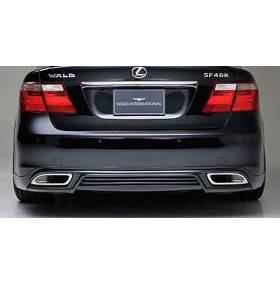 Накладка на задний бампер Lexus LS460 (Wald-style)