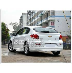 Накладка на задний бампер Chevrolet Cruze HB (CT)