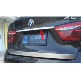 Накладка на заднюю дверь под номер на BMW X6 F16 (X6-D54)