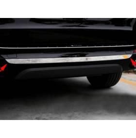Молдинг на задний бампер BMW X5 F15 (X5-C44)