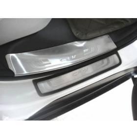 Накладки на пороги Honda CRV 2012+ (CRV-P23)