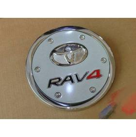 Хром на люк бензобака Toyota RAV 4 2016 (RV-C64)