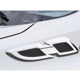 Хром на боковые поворотники Toyota RAV4 2016 (RV-C63)