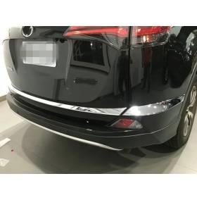 Хром накладки на багажник Toyota RAV4 2016 (RV-D64B)