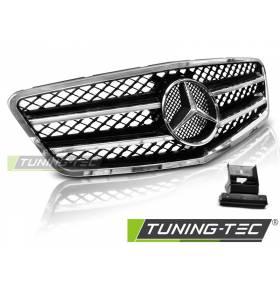 Решетка радиатора Mercedes W212 2009-2013 универсал (GRME24)