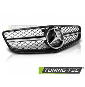 Решетка радиатора Mercedes W204 2007-2014  C63 STYLE (GRME15)