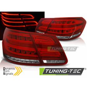 Задние диодные фонари Mercedes W212 2009-2013 (LDMEB2)