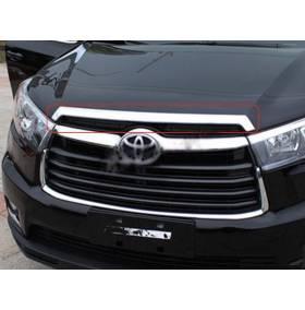 Хром капота для Toyota Highlander 2014+ (HL-C41)