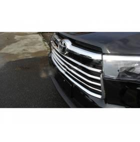 Хром решетки радиатора для Toyota Highlander 2014+ (HL-C42)
