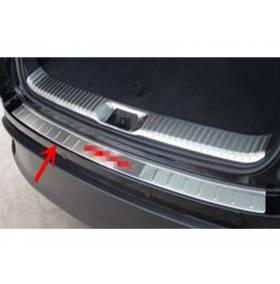 Накладка на задний бампер для Toyota Highlander 2014 + (HL-P42)