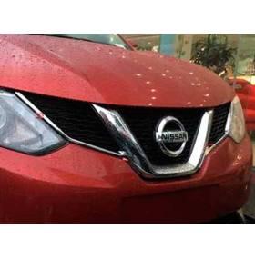 Хром на решетку радиатора Nissan Qashqai 2015+ (NQ-C53)
