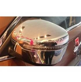 Хром на зеркала Nissan Qashqai 2015+ (NQ-C51)
