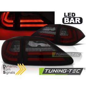 Диодные задние фонари Lexus RX 2009-2012 (LDLE07)