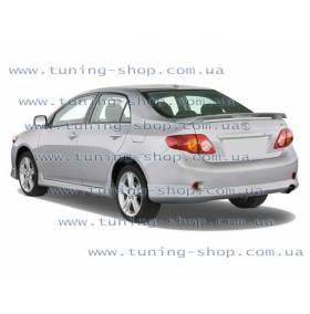 Спойлер заднего бампера Toyota Corolla 2006