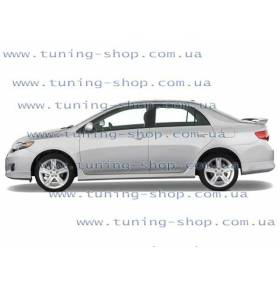 Пороги Toyota Corolla 2006 (MT)