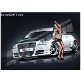 Передний бампер S-Line Audi TT