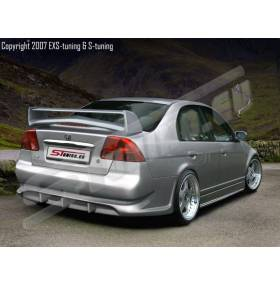Задний бампер S-Line Honda Civic 01-03