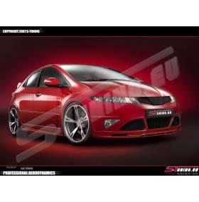 Накладка переднего бампера ST Honda Civic 06 -