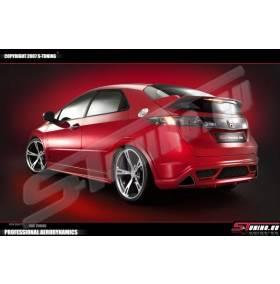 Накладка заднего бампера ST Honda Civic 06 -