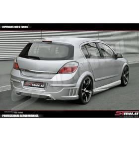 Накладка занего бампера Take Opel Astra H