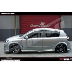 Пороги Take Opel Astra H