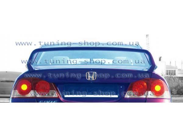 Спойлер Mugen-style - тюнинг обвес Honda Civic 06